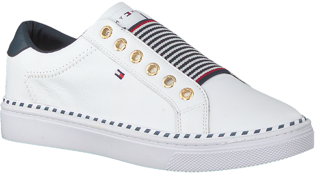 Weiße TOMMY HILFIGER Sneaker low TOMMY ELASTIC CITY  - large