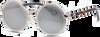 Graue IKKI Sonnenbrille JINX - small