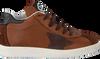 Cognacfarbene KIPLING Sneaker DAVY - small