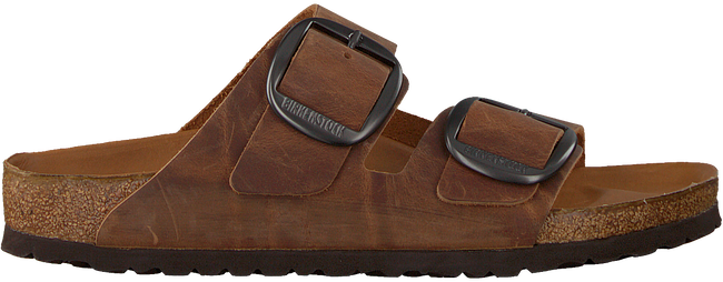 Braune BIRKENSTOCK Pantolette ARIZONA BIG BUCKLE  - large
