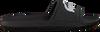 Schwarze LACOSTE Pantolette CROCO SLIDE  - small