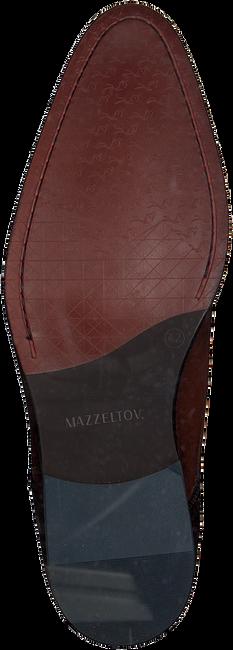 Cognacfarbene MAZZELTOV Schnürschuhe MREVINTAGE603.  - large