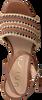 Cognacfarbene UNISA Sandalen MOLLA  - small