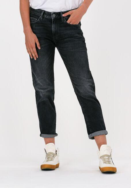 Graue G-STAR RAW Mom jeans ELTO BLACK STRETCH DENIM  - large