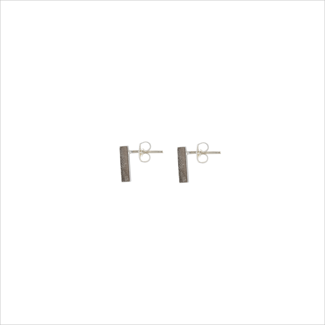 Silberne ALLTHELUCKINTHEWORLD Ohrringe ELEMENTS EARRINGS BAR - large