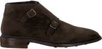 Braune FLORIS VAN BOMMEL Business Schuhe 10672  - medium