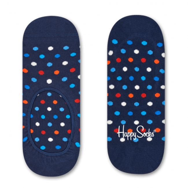 Blaue HAPPY SOCKS Socken DOT LINER  - large