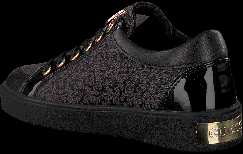 Black GUESS shoe FLGLN3 FAL12 | Omoda.at