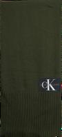 Grüne CALVIN KLEIN Schal J BASIC MEN KNITTED SCARF  - medium