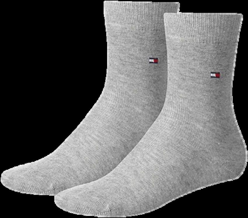 Graue TOMMY HILFIGER Socken TH CHILDREN SOCK TH BASIC 2P - larger
