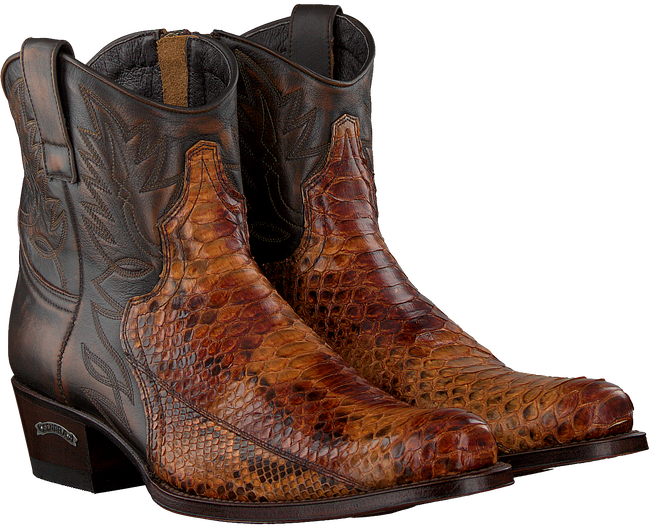 Cognacfarbene SENDRA Cowboystiefel 9496  - large