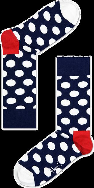 Blaue HAPPY SOCKS Socken BIG DOT - large