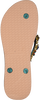 Braune UZURII Pantolette COLORFUL STAR - small