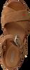Cognacfarbene OMODA Sandalen 722017  - small