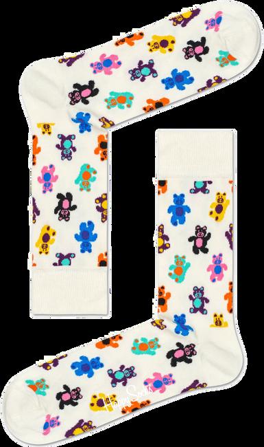 Weiße HAPPY SOCKS Socken TEDDYBEAR - large