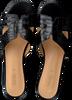 Schwarze NOTRE-V Pantolette 2213  - small