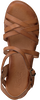 Cognacfarbene RED-RAG Sandalen 79322 LISA  - small
