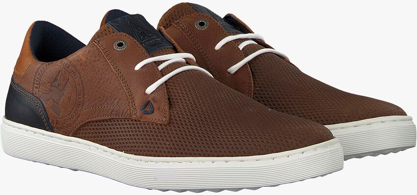 Cognacfarbene GAASTRA Sneaker TILTON  - larger