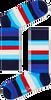 Blaue HAPPY SOCKS Socken STRIPE - small