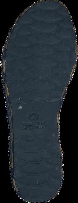 Blaue FRED DE LA BRETONIERE Zehentrenner FRS0321 ESPADRILLE SLIPPER SUE - large