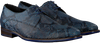 Blaue FLORIS VAN BOMMEL Business Schuhe 18159  - small