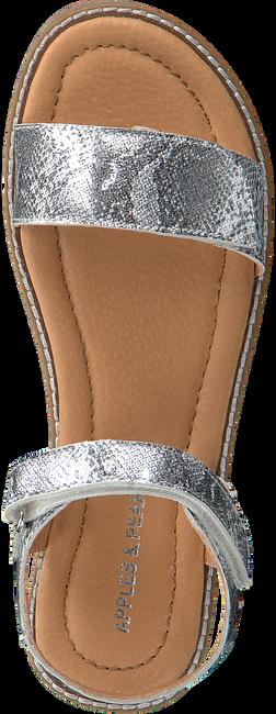 Silberne APPLES & PEARS Sandalen FEBE  - large