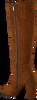 Cognacfarbene NOTRE-V Hohe Stiefel AH97  - small