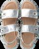 Silberne CLIC! Sandalen ELENA - small