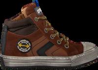 Cognacfarbene DEVELAB Sneaker high 41631  - medium