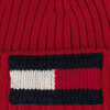Rote TOMMY HILFIGER Mütze BIG FLAG - small