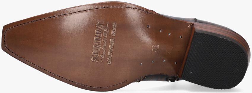 Braune SENDRA Cowboystiefel 9918  - larger
