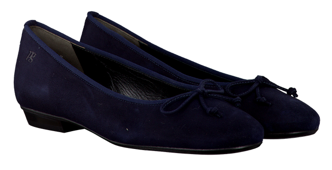 Blaue PAUL GREEN Ballerinas 3102 - large