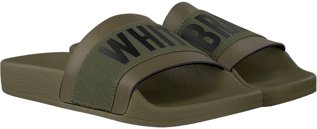 Grüne THE WHITE BRAND Pantolette ELASTIC MINIMAL KIDS - large