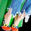 Mehrfarbige/Bunte HAPPY SOCKS Socken LINER  - small