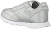 Silberne REEBOK Sneaker CL LEATHER KIDS - small