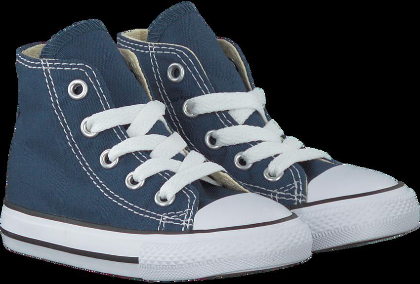 Blaue CONVERSE Sneaker CHUCK TAYLOR ALL STAR HI KIDS - larger
