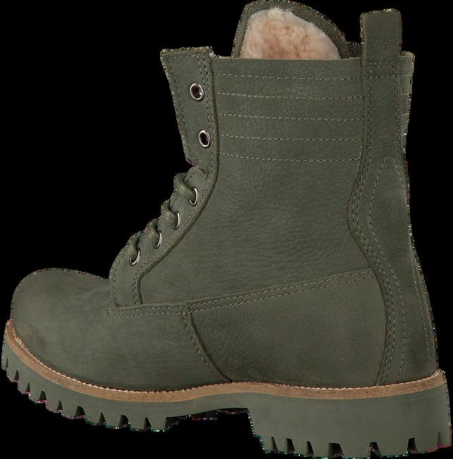 Grüne BLACKSTONE Schnürstiefel OL22 - large