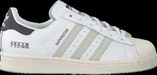 Weiße ADIDAS Sneaker low SUPERSTAR  - large