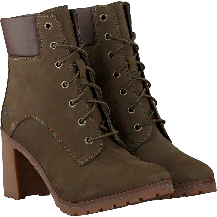 Grüne TIMBERLAND Ankle Boots ALLINGTON 6IN LACE - larger