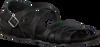 Schwarze RED RAG Sandalen 79144  - small