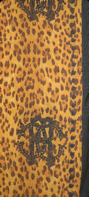 Gelbe ROMANO SHAWLS AMSTERDAM Schal SHAWL ANIMAL  - large