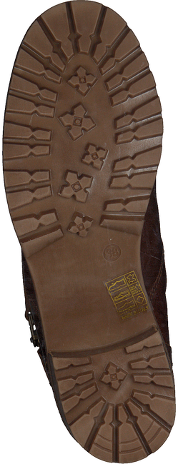 Cognacfarbene OMODA Stiefeletten 8804  - large