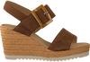 Braune GABOR Sandalen 795.1  - small
