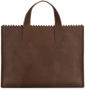 Braune MYOMY Handtasche HANDBAG CROSS-BODY - small