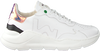 Weiße WOMSH Sneaker low WAVE WHITE SHINY  - small