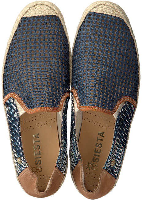 Blaue LA SIESTA Espadrilles 51084  - large