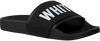 Schwarze THE WHITE BRAND Pantolette ELASTIC MINIMAL KIDS - small
