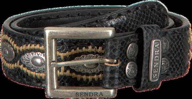 Schwarze SENDRA Gürtel 7606  - large