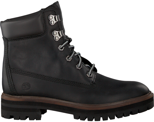 Schwarze TIMBERLAND Schnürboots LONDON SQUARE 6IN BOOT - large