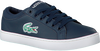 Blaue LACOSTE Sneaker STRAIGHTSET LACE 118 1 CAC - small
